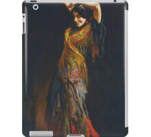 Leopold Schmutzler (Austrian, 1864-1941), The Flamenco Dancer iPad Case/Skin