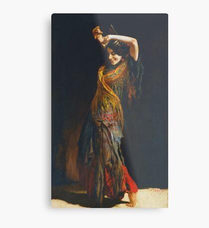 Leopold Schmutzler (Austrian, 1864-1941), The Flamenco Dancer Metal Print