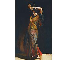 Leopold Schmutzler (Austrian, 1864-1941), The Flamenco Dancer Photographic Print