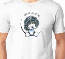 Cockapoo Black Parti IAAM Unisex T-Shirt