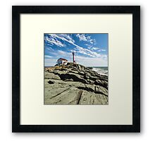 Cape Forchu Spring 2014 Framed Print