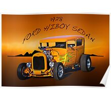 1928 Ford 'HiBoy' Sedan II Poster