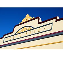 Newcastle Baths Art Deco Facade Photographic Print
