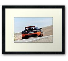 The Worlds Fastest Car ... Framed Print