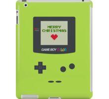Gameboy Christmas iPad Case/Skin