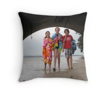 The Life of Children Throw Pillow