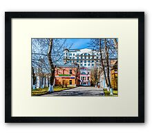 Church Shop Framed Print