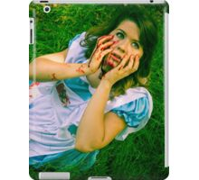 Demented Disney: Malice In Wonderland iPad Case/Skin