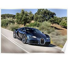 The Worlds Fastest Car ... Poster