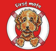 Cockapoo Tan First Mate Kids Tee