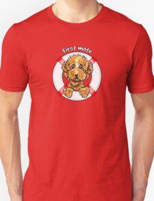 Cockapoo Tan First Mate Unisex T-Shirt