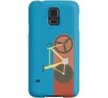 Red Track Samsung Galaxy Case/Skin