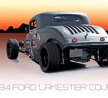 1934 Ford 'Lakester' Coupe by DaveKoontz
