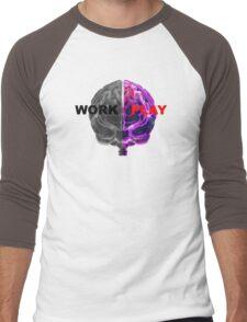 Work / Play Men's Baseball ¾ T-Shirt