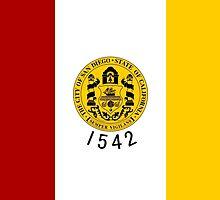 Flag of San Diego  by abbeyz71