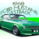 1968 Ford Mustang Fastback IV by DaveKoontz