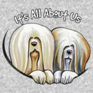 Lhasa Apso Its All About Us IAAU by offleashart