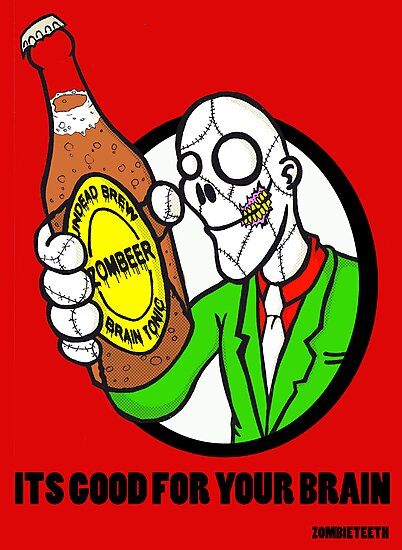 ZOMBEER by ZOMBIETEETH