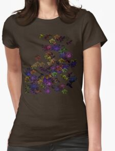 Florals Womens Fitted T-Shirt