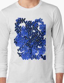 Blue Field Long Sleeve T-Shirt