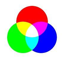 Additive Color Photographic Print