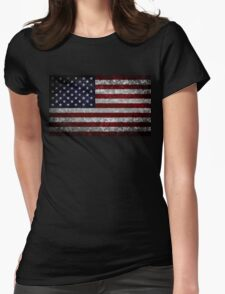 Flag of the United States Womens Fitted T-Shirt