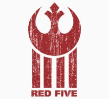 Red Five by laprasthebold