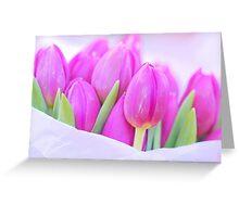 P I N K Greeting Card