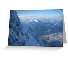 Mountains In Austria Greeting Card