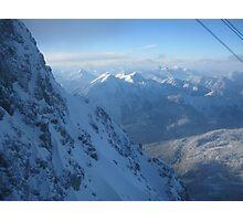 Mountains In Austria Photographic Print
