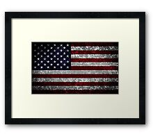 Flag of the United States Framed Print