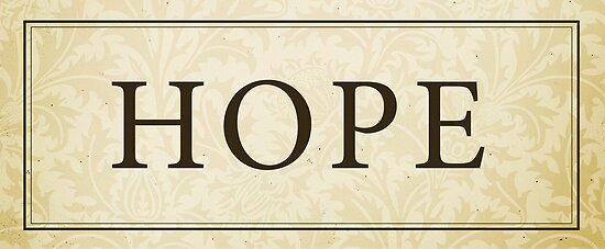 Hope Sign/Plaque by Dallas Drotz