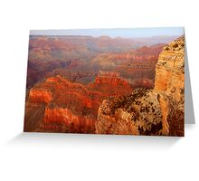 Hopi Point At Dusk, Grand Canyon Greeting Card