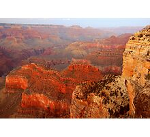 Hopi Point At Dusk, Grand Canyon Photographic Print