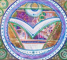 It's Time to MANIFEST: Inner Power Painting by mellierosetest