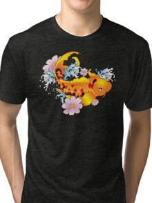 Satans Koi Tri-blend T-Shirt