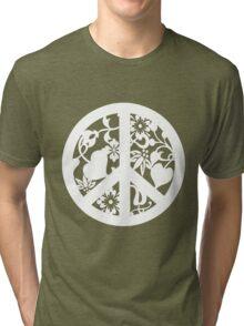 Peace Garden Tri-blend T-Shirt