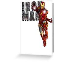 I Am Iron Man Greeting Card