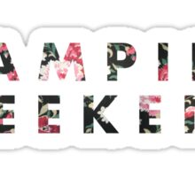 Vampire Weekend Floral Sticker