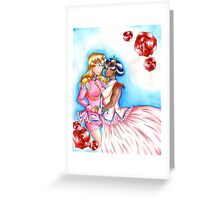Utena and Anthy Greeting Card