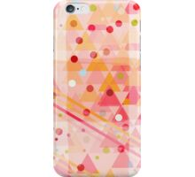 Candy Sorbet Abstract Decor iPhone Case/Skin