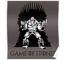 MARVEL Thanos on the Iron Throne Poster