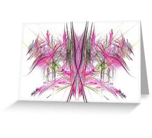 Coloured Cross Greeting Card