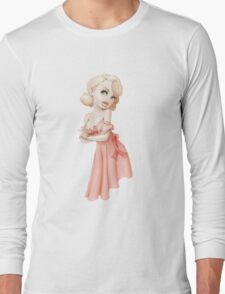 Pink Ribbon Long Sleeve T-Shirt