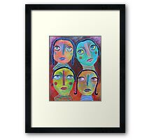 We All Know Better Framed Print