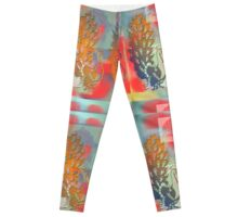 Peacocks Leggings