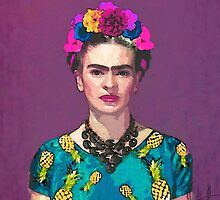 Trendy Frida Kahlo by xchangestudio