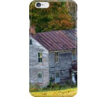 Fall At The Forgotten Farmhouse iPhone Case/Skin