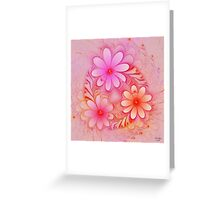'Ring of Posies' Greeting Card