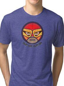 Lucha Libre Liberation (Gonzalez) Tri-blend T-Shirt